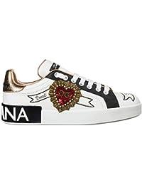 Dolce Gabbana Sneakers Portofino Donna Bianco 16d20cac99a