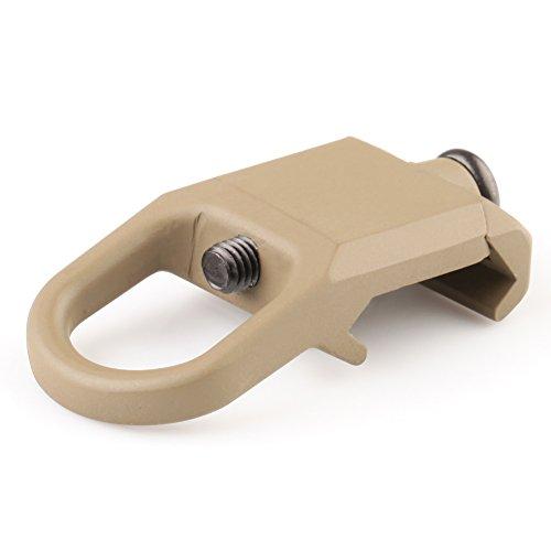 Preisvergleich Produktbild VERY100 1X Sling Montageplatte Adapter Befestigung mit 20mm Picatinny Schienen Jagd Mission (tarn)