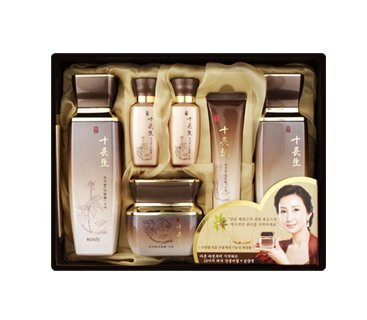 Korean Cosmetics_Rosee Sib Jang Saeng Cheon Ji Hyang Skin Care for Dry Skin Moist & Anti-wrinkle, 3 Pcs Set