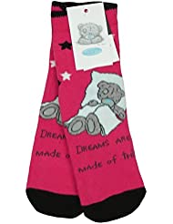 Filles Tatty Teddy Ourson - Me To You Chausson Lit Anti-dérapant Chaussettes Taille 4 pour 8
