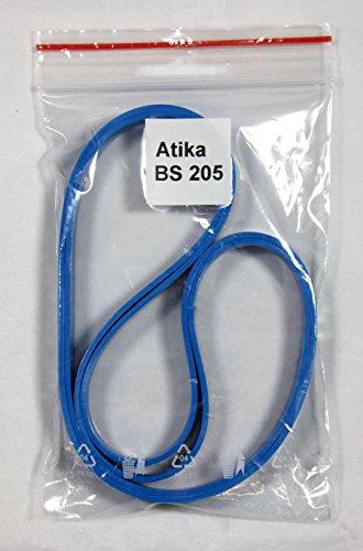 Bandage/Belagband für die Bandsägenmaschine Atika BS 205, 2 teilig, hochwertig, Bindeglied zwischen Bandsägemaschine und Sägeband, Ersatz vom Laufrollenbelag Bandsägenbelag Sägenbelag Belag Band