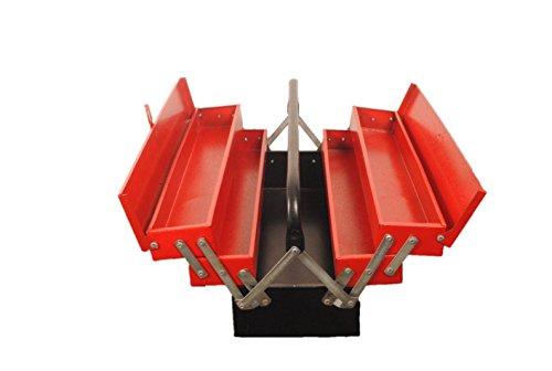 Venus AMT22 Metal Tool Box (Red)