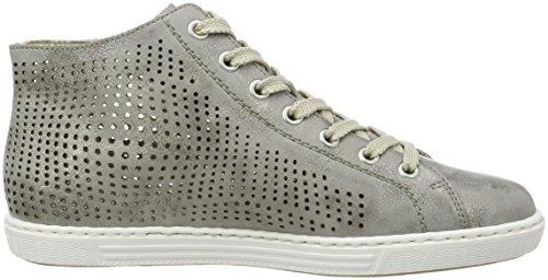 Rieker Damen L0936 High-Top Grau (Grey / 41)