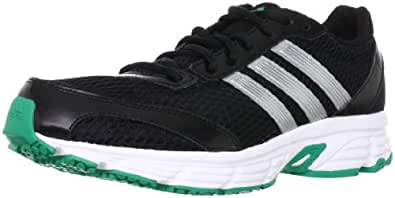 Adidas Performance Mens Vanquish 6 M Running Shoes-Q22392, Black/Silver/White/Blaze Green, 12 UK