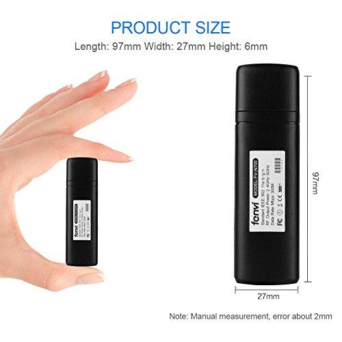 41UtQVq4pVL - Adaptador Velidy Wi-Fi inalámbrico USB para televisión, 802.11ac de doble banda 2,4GHz y 5GHz, adaptador USB de red WiFi inalámbrico para smart TV Samsung WIS12ABGNX WIS09ABGN 300M