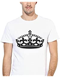 King Crown Prince Half Sleeves Stylish Graphic Printed T-shirts For Men's Boys Mens Round Neck T Shirt Tees Shirts...