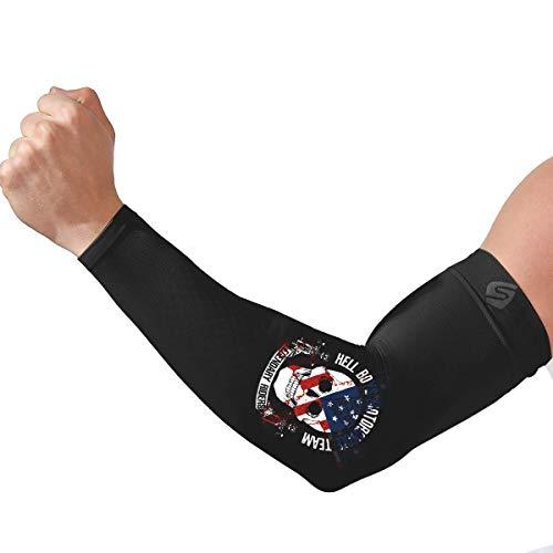 SHINYMOD Manicotti Braccia Protezione UV Braccia per Uomo e Donna Pattern di Seta Serigrafica Originale Sport Compressione Manicotti pallavolo