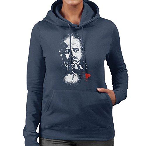 The Godfather The Offer Don Vito Corleone Women's Hooded Sweatshirt (Programm Das James Caan)