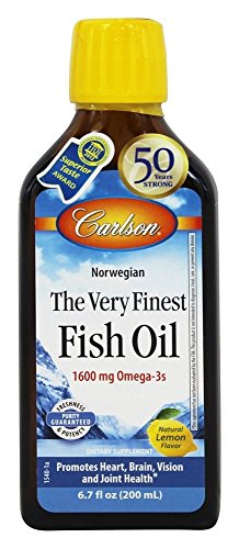 Very Finest Fish Oil Lemon Flavor 200 ml JC