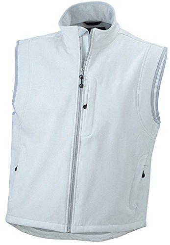 JN136 Men's Softshell Vest Trendige Weste aus Softshell Red