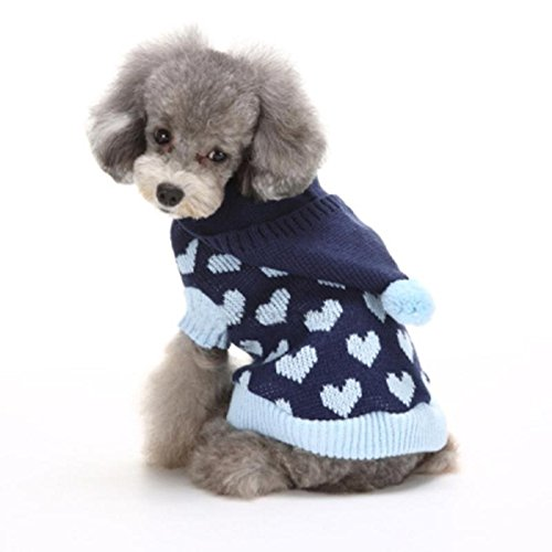 Haustier Hundemantel Pullover Stück Cap LNAG , (Kostüm Britische Hut Polizei Die)