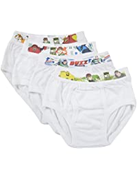 THE BODY CARE Boy's Cotton Brief - Pack of 4