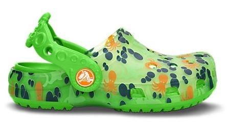 Crocs Kids-Chameleon/translucide Animal-Pieuvre-Baleine - Octopus