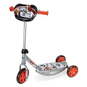 Smoby - Cars SILVER PATINETTE 3 ROUES