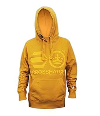 Mens Crosshatch Designer Hoodie Pull Over Sweatshirt Hooded Top Sports Jumper