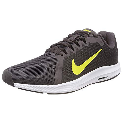 Nike Herren Downshifter 8 Fitnessschuhe, Mehrfarbig (Thunder Dynamic Yellow/Oil Grey 010), 44 EU