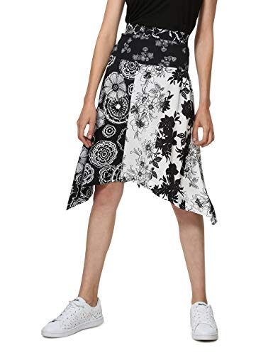 Desigual Skirt Knee Paola Woman Black