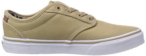 Vans ATWOOD, Unisex-Kinder Sneakers Beige ((Canvas) Khaki/ ESV)