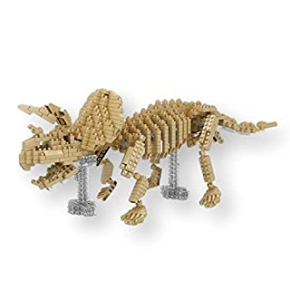 YZ-Diamond Skeleton Various. Figures for Armar with nanobloques. Triceratops