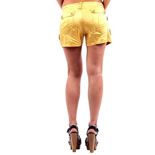 RA-RE Damen Seiden Shorts Perez Raso Yellow 22DB0008A Yellow