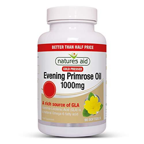 Natures Aid 1000mg Evening Primrose Oil - Pack 90 Capsules