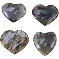 Healifty Mondstein Herzförmige Edelsteine für die Heilung Meditation Chakra (zufällige Farbe) preisvergleich bei billige-tabletten.eu