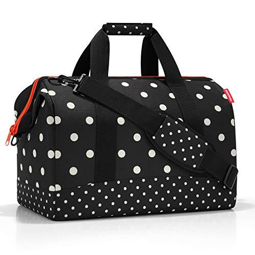 24e20c729 Reisenthel Allrounder L Mixed Dots Bolsa de Viaje 48 Centimeters 30 Negro (Mixed  Dots)