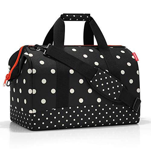 Reisenthel Allrounder L Mixed Dots Bolsa de Viaje 48 Centimeters 30 Negro Mixed Dots