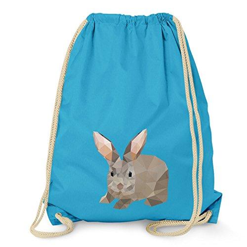 TEXLAB Poly Bunny - Turnbeutel, surf (Surf-uhr-digital)