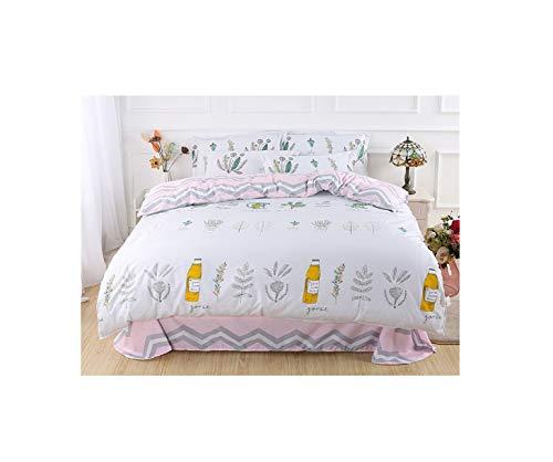 The Unbelievable Dream Bettbezug doppelseitige bettwäsche Set Baumwolle waschbar einfache niedliche Kinder Kinder Erwachsene Romantisches ferienhaus, 4