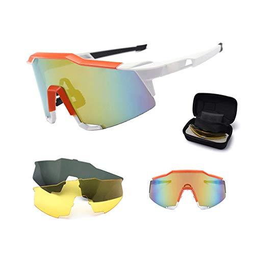 Qinmo Montura gafas seguridad deportiva lente transparente