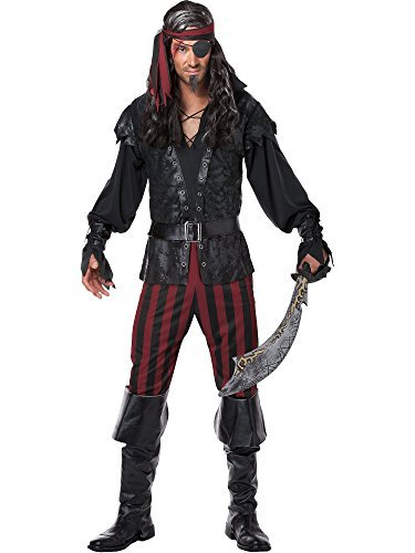 ostüm für Männer XL (Pirat Kostüm Mann)