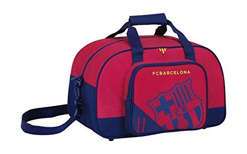 Safta 047643 F.C. Barcelona Bolsa de Deporte, Color Azul y Granate