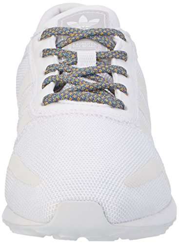 adidas Angeles, Scarpe da Ginnastica Basse Uomo Bianco (Ftwr White/ftwr White/lgh Solid Grey)