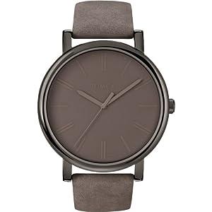 Timex – Reloj de Pulsera Unisex, Correa de Cuero