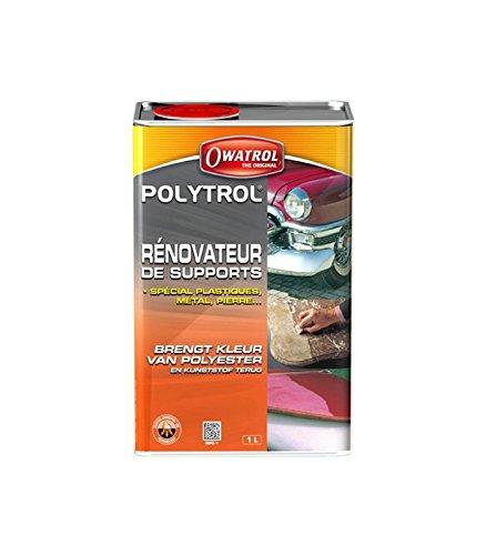 Owatrol polytrol, renovation des plastiques, pierre, chrome, marbre, granit - 1L