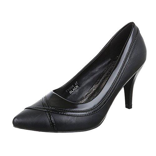 Ital-design - Chaussures Fermées Noires Pour Femmes