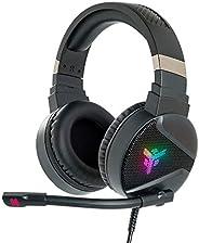 Itek – Cuffie Gaming H410 - Cuffie Gaming con Microfono Flessibile. Cuffie da gioco con Controllo del volume,