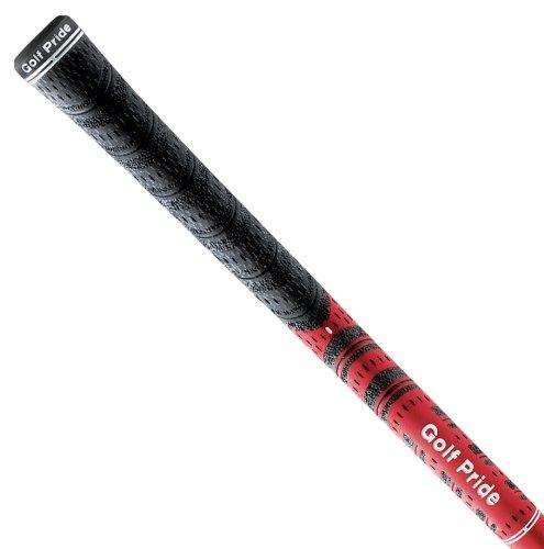 Golf Pride Herren Griffe Multi-Compound Cord, Schwarz/Rot, M, RE34-001 -