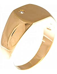 ISADY - Charming Gold - Ring Unisex Men Women - 750/000 (18 Carat) Gold