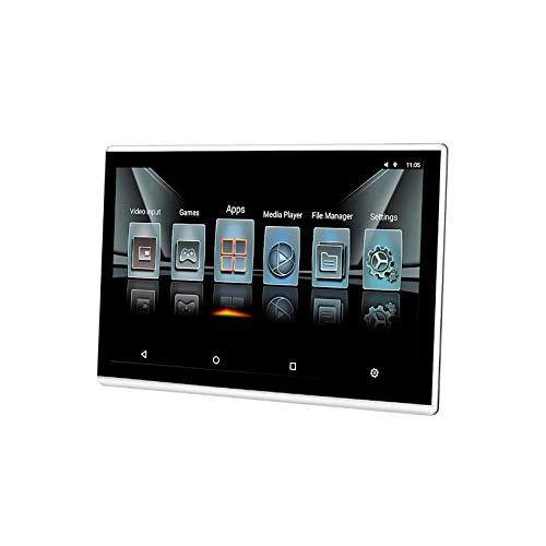 Hahaiyu Auto Kopfstützen Monitor, 12,1 Zoll Android 6.0 4k 1080P MP5-Player IPS Touchscreen, HDMI-Eingang, AV-Eingang, USB, WiFi (eingebaut), TF, Spiegelverbindung, 2 Lautsprecher, Logo (Monitor Wifi-auto-kopfstütze)
