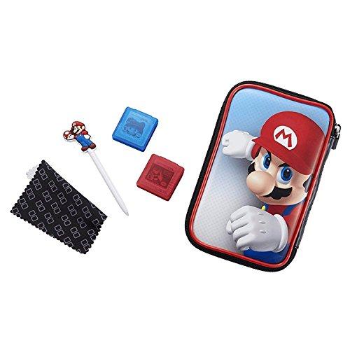 "Offizielles Nintendo New 3DS XL / 3DS XL - Zubehör-Set \""Official Essential Mario Pack\"" , Motiv: Mario"