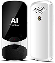 Ai Language Translator, An Instant Two-Way Voice Translator Device and Transcription Recorder In 106 Languages