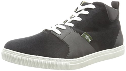 JonnyŽs Vegan  Hege, Sneakers Basses mixte adulte Noir