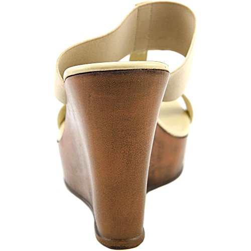 Charles David Agnes Femmes Toile Sandales Compensés Camel