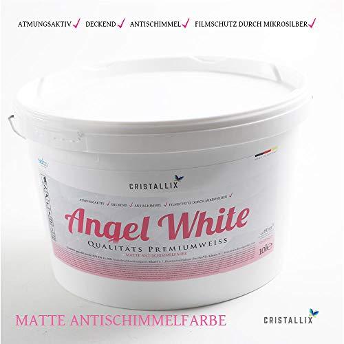 Innenwandfarbe angel white weiss 100l
