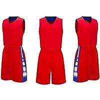 SUPSJD Herren- Basketball Kleidung Trainingsbekleidung Sport-Paket ärmel Weste
