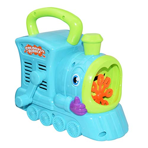 Mitlfuny Kinder Erwachsene Entwicklung Lernspielzeug Bildung Spielzeug Gute Geschenke,Wasser weht Spielzeug kreative Cartoon Handlokomotive Bubble Machine Outdoor-Kinder