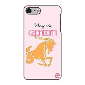 Nutcase Designer iPhone 7 Plus Case Mobile Cover - Phone of a Capricorn