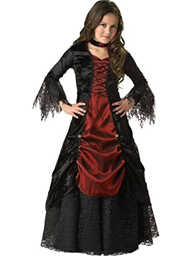 InCharacter Costumes Girls Gothic Kinderkostüm - 98-104cm